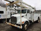 (Columbus, OH) Altec AA755L, Material Handling Bucket Truck rear mounted on 2007 Peterbilt 335 Utili