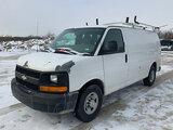 (Wright City, MO) 2010 Chevrolet C2500 Cargo Van Starts, runs, drives, body damage