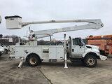 (Conway, AR) Altec AN55E-OC, Material Handling Bucket Truck rear mounted on 2009 International 7400