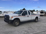 (Chester, VA) 2011 Ford F250 4x4 Extended-Cab Pickup Truck runs and drives, minor body damage
