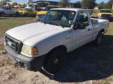 (Ocala, FL) 2009 Ford Ranger Pickup Truck Starts, Runs & Drives