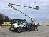 (Chester, VA) Aerial Lift of CT AL-62/52-5-1L-4HRM, Over-Center Bucket Truck rear mounted on 2005 In