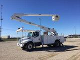 (Waxahachie, TX) Altec AA755-P, Bucket Truck rear mounted on 2012 International 4300 DuraStar Utilit