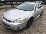 (Ocala, FL) 2011 Chevrolet Impala 4-Door Sedan Starts, Runs & Drives (BRANDED POLICE VEHICLE