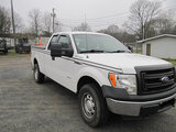 (Shelby, NC) 2013 Ford F150 4x4 Extended-Cab Pickup Truck runs, drives, minor body damage