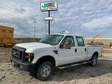 (Wright City, MO) 2010 Ford F250 4x4 Crew-Cab Pickup Truck Starts, runs, drives. body damage