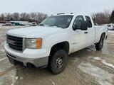 (Wright City, MO) 2008 GMC K2500HD 4x4 Extended-Cab Pickup Truck runs, drives, check engine light on