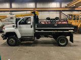 (Neenah, WI) 2008 Chevrolet C4500 4X4 Dump Truck runs and drives, check engine light on, seller stat