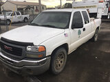 (Conway, AR) 2005 GMC K1500 4x4 Extended-Cab Pickup Truck runs and drives, odometer not showing, bod