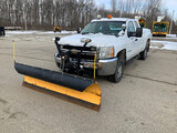 (Plymouth, IN) 2008 Chevrolet K2500HD 4x4 Extended-Cab Pickup Truck Unit will run, drive, and operat