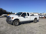(Chester, VA) 2016 Ford F250 4x4 Extended-Cab Pickup Truck runs and drives, check engine light on, m