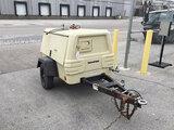 (Columbus, OH) 2010 Ingersoll Rand P185WJD Portable Air Compressor, trailer mtd No Title) (fuel prob