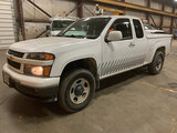 (Neenah, WI) 2012 Chevrolet Colorado 4x4 Extended-Cab Pickup Truck runs and drives, air bag light on