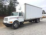(Chester, VA) 2000 International 4700 Van Body Truck runs and drives