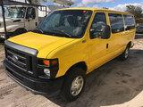 (Ocala, FL) 2011 Ford E150 Window Cargo Van Starts, Runs & Drives
