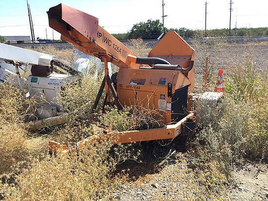 "2009 Altec Environmental Products WC-126A Chipper (12"" Drum), trailer mtd No Title) (starts, runs an"