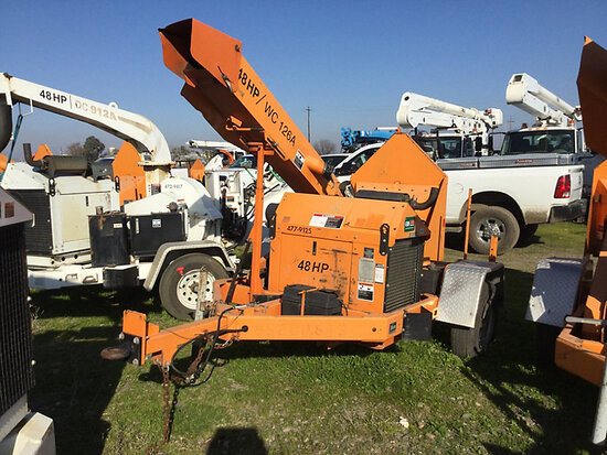 "2011 Altec Environmental Products WC126A 48hp Chipper (12"" Drum), trailer mtd No Title, runs and ope"