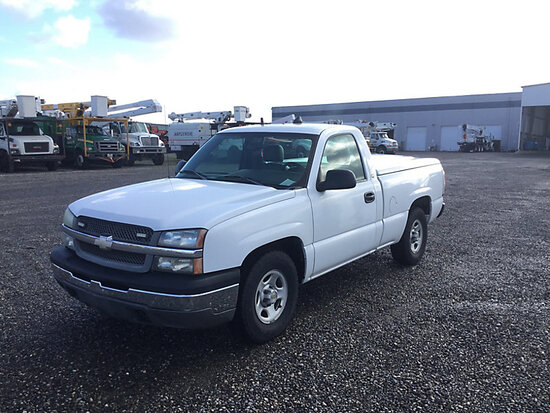 2004 Chevrolet C1500 Pickup Truck Engine starts and runs, drive train operates