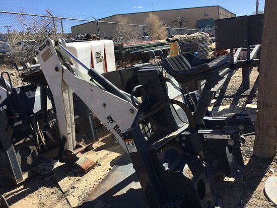 Bobcat BACKHOE 9BH Hydraulic Backhoe Attachment condition iunknown, missing bucket) (seller will ass