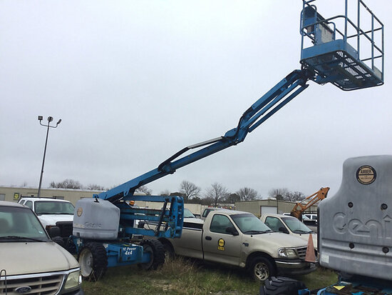 2006 Genie Z-45/25 4x4 Self-Propelled Articulating & Telescopic Manlift runs, operates