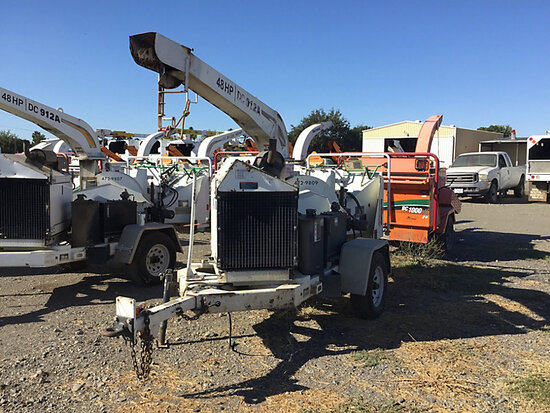 "2009 Altec Environmental Products DC912A Chipper (12"" Disc), trailer mtd runs, will not stay running"