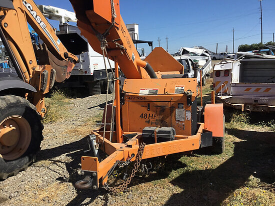 "2009 Altec Environmental Products WC-126A Chipper (12"" Drum), trailer mtd No Title, engine starts an"