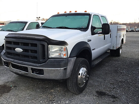 2006 Ford F450 Crew-Cab Service Truck dash not lighting up