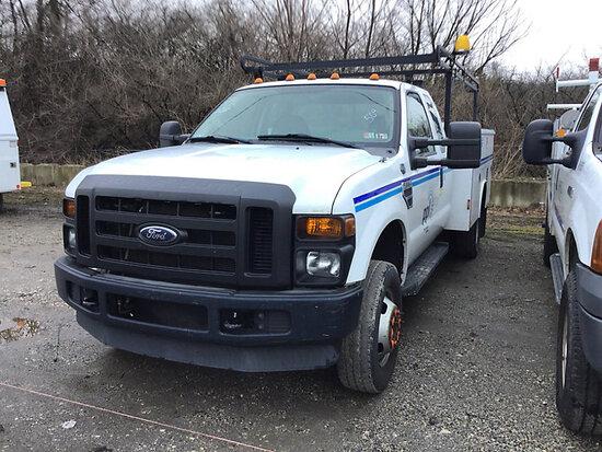 2008 Ford F350 4x4 Service Truck