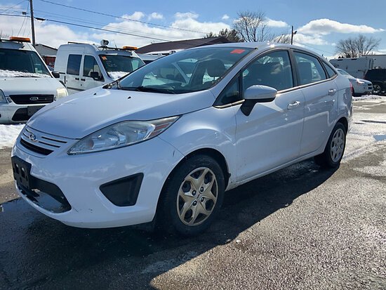 2012 Ford Fiesta 4-Door Sedan