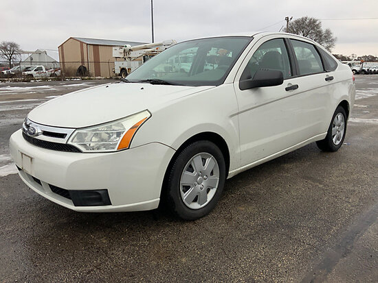 2010 Ford Focus 4-Door Sedan