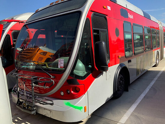2005 NABI 60B.O1 Passenger Bus Dismantler Only, To Be Sold from Jurupa Valley at 9am Attn Buyer: Bus