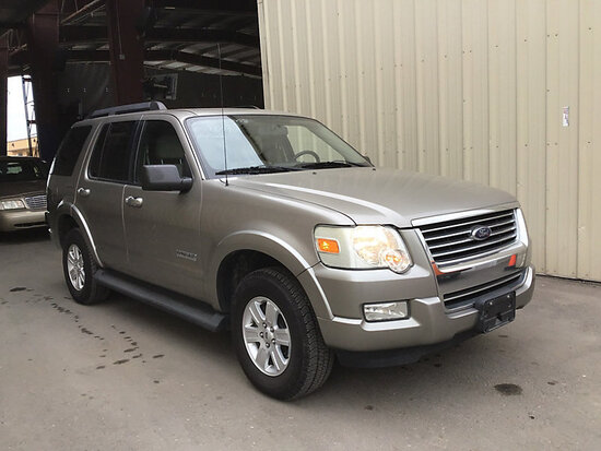 2008 Ford Explorer 4x4 4-Door Sport Utility Vehicle Runs and Drives