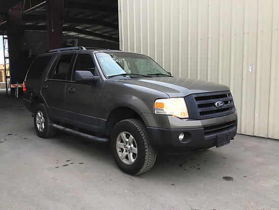 2012 Ford Expedition 4x4 4-Door Sport Utility Vehicle Rear Power Windows need Repair, Runs and Drive