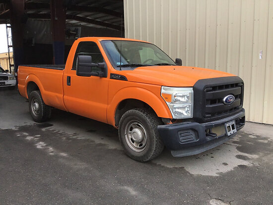 2011 Ford F250 Pickup Truck Runs and Drives