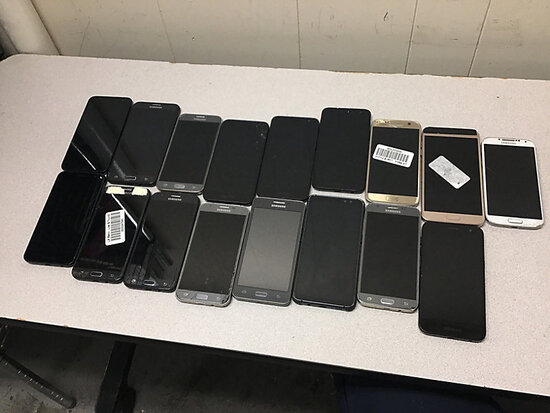 Samsung smart phones (Possibly locked Possibly locked, no chargers, some damage