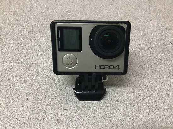 Go pro hero 4 NOTE: This unit is being sold AS IS/WHERE IS via Timed Auction and is located in Jurup