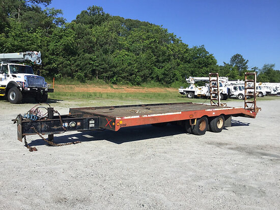 1997 Allegheny FB12T, 12-Ton T/A Tagalong Trailer