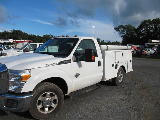 2016 Ford F250 Service Truck starts, runs & drives, minor body damage