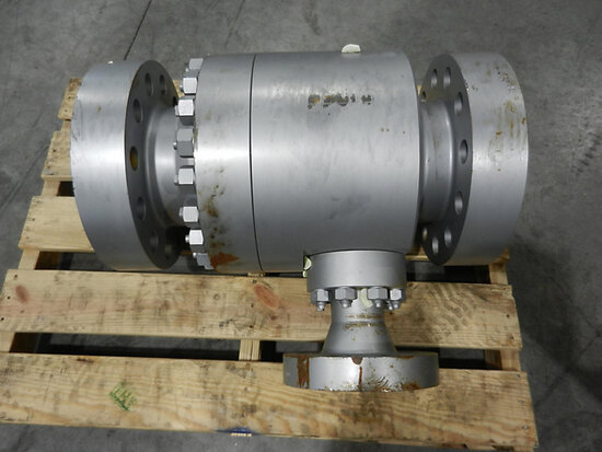 2002 Schroedahl 6 in. Carbon Steel Arc Valve Type: TDM 138 UHWW-CS SN/Order: K02-0192.1-4 Shipping: