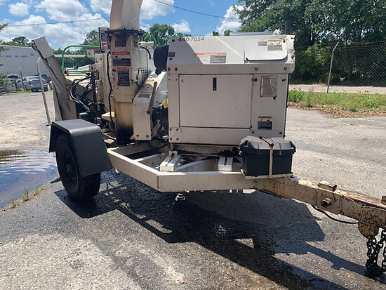 "2007 Altec Environmental Products DC1217 Chipper (12"" Disc), trailer mtd starts & runs"