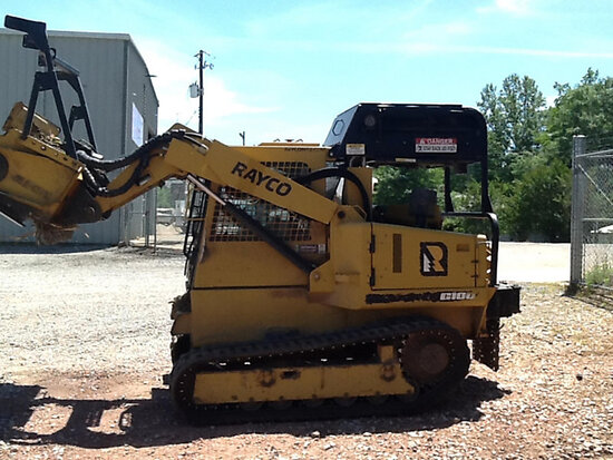 2016 RAYCO C100R Crawler Shredder/Mulcher, Sold w/Lot 72306 (brush cutter) (Price split 70/30