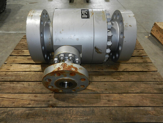 2002 Schroedahl 6 in. Carbon Steel Arc Valve Type: TDM 138 UHWW-CS SN/Order: K02-0192.1-2 Shipping: