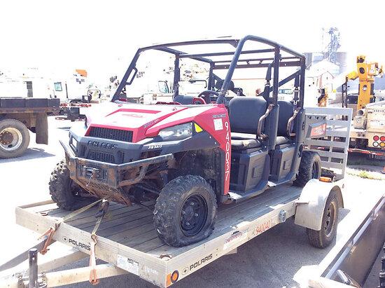 2014 Polaris Ranger 900 Crew-Cab All-Terrain Vehicle engine needs repairs, not running, condition un