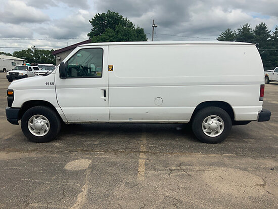2011 Ford E250 Cargo Van runs and drives, check engine light on, possible bad injectors