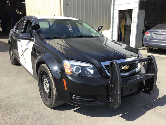 2014 Chevrolet Caprice 4-Door Sedan Runs and drives, hood latch needs repair, minor body damage
