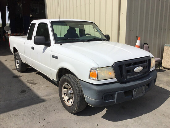 2007 Ford Ranger Extended-Cab Pickup Truck Runs and drives, check engine light on