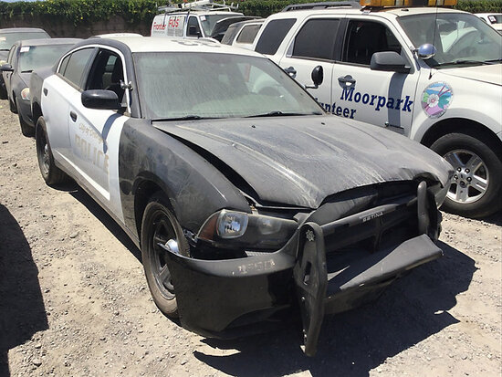 2014 Dodge Charger 4-Door Sedan non runner, no key, major front end damage, stripped of parts, open