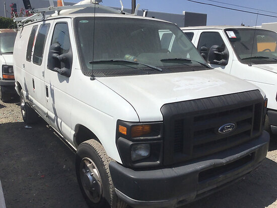 2010 Ford E250 Cargo Van non runner, stripped of parts, missing ignition, cng tank expires April 202