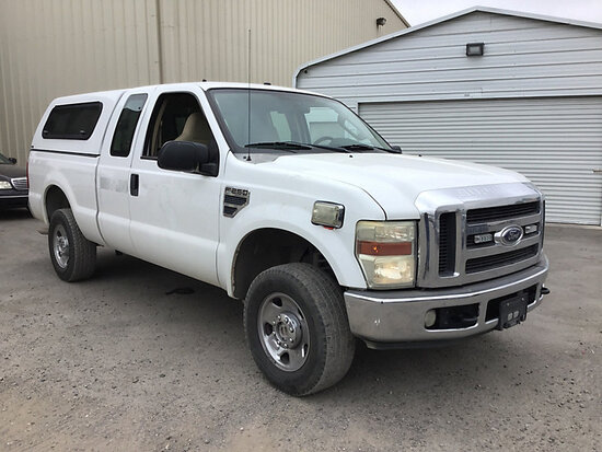 2008 Ford F250 4x4 Extended-Cab Pickup Truck Runs and drives