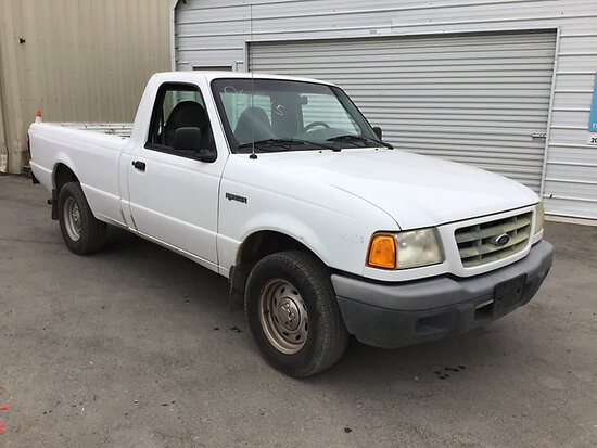 2001 Ford Ranger Pickup Truck Runs and drives, check engine light on